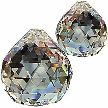Kristallglaskugel ø 50mm 2 Stück im Set 30%