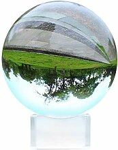 Kristallkugel 80mm - Fotografie Kugel mit Ständer
