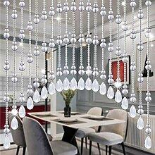 Kristallvorhang Perlenvorhang für Tür Dekorative