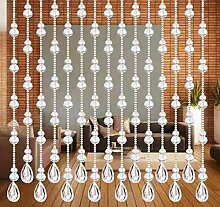 Kristallvorhang, Perlenvorhang für Tür,