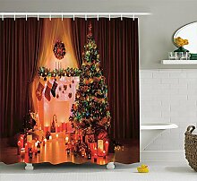 Kristi McCartney Weihnachtsschmuck Duschvorhang