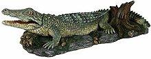 Krokodil Auf Felsen 26cm Trixie, Dekorative