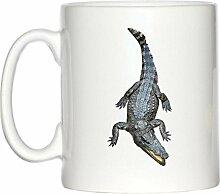 Krokodil Bild Design Becher