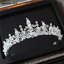 Krone kristall Hochzeit Kleid Schmuck handgefertigte Kopfbedeckungen Accessoires, Krone
