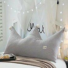 Krone Prinzessin Zimmer Bett Rückenlehne Weich