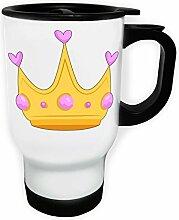 Krone Schöne Prinzessin Weiß Thermischer