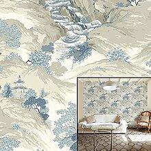 Krone Wallcoverings Oriental Landschaft Tapete,