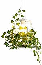 Kronleuchter, Eisen Blumen Lampenschirm Durable