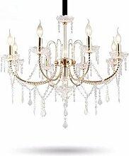 Kronleuchter Eleganter Kerzen-Art-Kristallleuchter