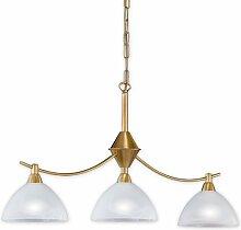 Kronleuchter mit Lampenschirmen -Pendelleuchte