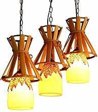 Kronleuchter MMM- Landhausstil Bambus Licht