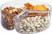 Krosno Kristall Gläser Antipasti Snack-Teller