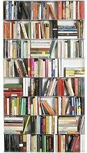 Krossing Regal für Bücher 24 Fächer weiß