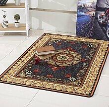 KRPDIN Luxus-Druck Teppich Schlafzimmer Wohnzimmer