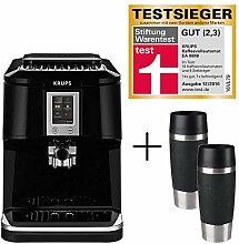 Krups Kaffeevollautomat One-Touch EA8808 + 2 x