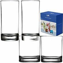 Kryllic Whisky Gläser Set Kunststoffbecher Acryl