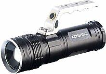 KryoLights Handscheinwerfer: LED-Akku-Taschenlampe