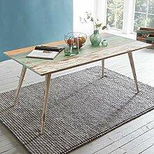 KS-Furniture Esstisch YAMAS Massivholz 175x76x85cm