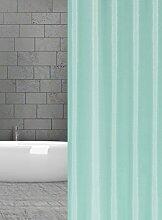 KS Handel 24 Textil Duschvorhang 240x200 cm (Mint