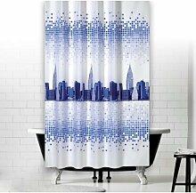 KS Handel 24 Textil Duschvorhang 240x200 cm (New