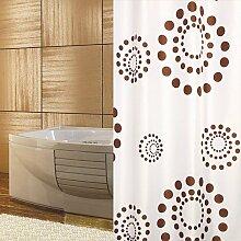 KS Handel 24 Textil Duschvorhang 240x200 cm /