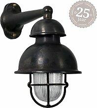 KS Nautic Schiffslampe Wharf Schwarz/Bronze