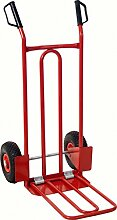 KS Tools 160.0226 Transport-Stapelkarre mit Luftbereifung, 250kg