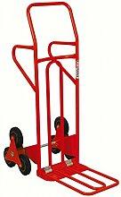 KS Tools 160.0227 Treppenkarre mit Vollgummi-Dreisternbereifung