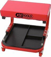 KS Tools 500.8020 Fahrbarer Werkstatthocker,