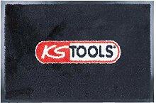 KS Tools 985.0860 Fussmatte mit KS-Logo,80x120cm,