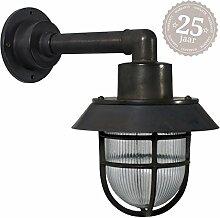 KS Verlichting Docklight Schiffslampe schwarz