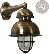 KS Verlichting Schiffslampe Wharf Bronze