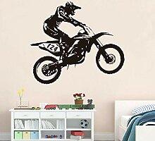 Kssim Racer Reiten Motorrad Wandtattoo Diy