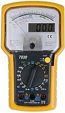 KT7030 professionelle digitale Doppelanzeige Analoge Multimeter Tester