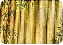 kThrones Badematte Teppich Bambus Hintergrund mit