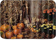 kThrones Badematte Teppich Herbst Land Scheune
