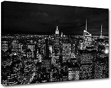 Kuader New York Bild Druck Auf Leinwand Für Den