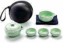 Kuaikaidan Keramik-Teekanne, Tasse, Tee-Set,