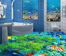 Kuamai 3D Flooring Korallenboden Seefisch