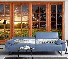 Kuamai 3D Fototapete 3D Wandbilder Tapete Für