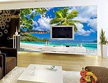 Kuamai 3D Ocean Wandbild Tapete Für Wände 3 D