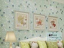 Kuamai 3D-Vlies Tapete Schlafzimmer Wohnzimmer
