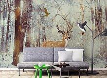 Kuamai 3d Wallpaper benutzerdefinierte Wald Foto