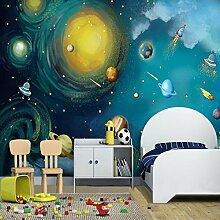 Kuamai 3D Wandbild Tapete Für Wand Astronomische