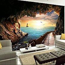 Kuamai 3D Wandbild Tapete Für Wand