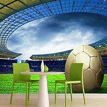 Kuamai Benutzerdefinierte 3D Fußball Fototapete