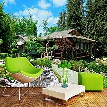 Kuamai Benutzerdefinierte Fototapete Garten