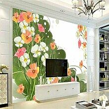 Kuamai Blumen-Tapete Kundenspezifische
