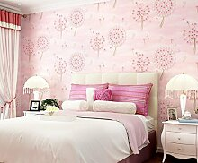 Kuamai Kinder 3D Wallpaper Für Kinder Mädchen Bedroombedroom Wohnzimmer Wand Papierrollen Non Woven