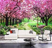 Kuamai Moderne Blume Tapete Für Living Zimmer Tv
